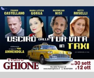 Locandina evento: Uscirò dalla tua vita in taxi