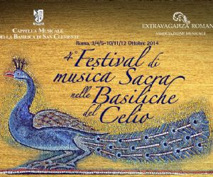 Locandina evento: Festival di Musica Sacra nelle Basiliche del Celio