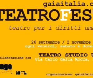 Locandina evento: Arriva la prima edizione di GAIAITALIATEATROFEST