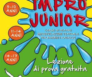 Locandina evento: Corso d'improvvisazione teatrale per bambini e ragazzi