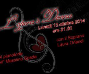 Locandina evento: l'opera è donna