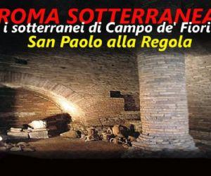 Locandina evento: I sotterranei di Campo de' Fiori