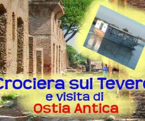 Locandina evento: Crociera sul Tevere in battello...
