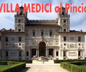 Locandina evento: Villa Medici al Pincio