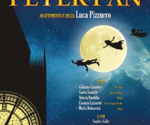 """Locandina evento: """"Peter Pan"""", scritto e diretto da Luca Pizzurro"""