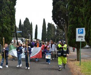 """Locandina evento: """"Via Crucis dei Malati Rari"""" - Una marcia laica e pacifica"""
