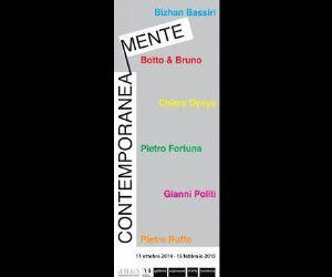 Locandina evento: Contemporanea Mente