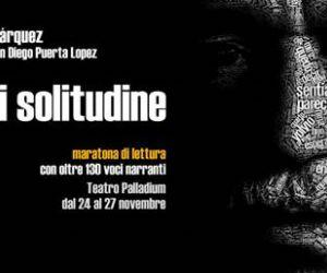 Locandina evento: Omaggio teatrale a GABRIEL GARCÍA MÁRQUEZ