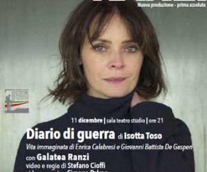 Locandina evento: Galatea Ranzi: diario di guerra