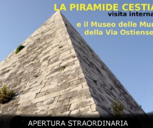 Locandina evento: La Piramide Cestia e il Museo Ostiense