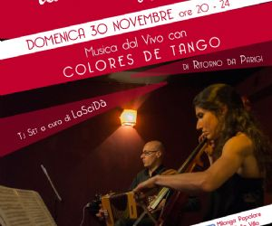 Locandina evento: Colores De Tango in concerto al Fusolab 2.0