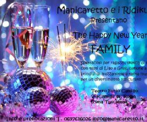 Locandina evento: Happy new year family