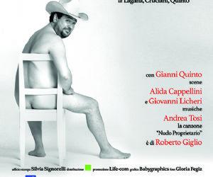 Locandina evento: Rodolfo Laganà in Nudo proprietario