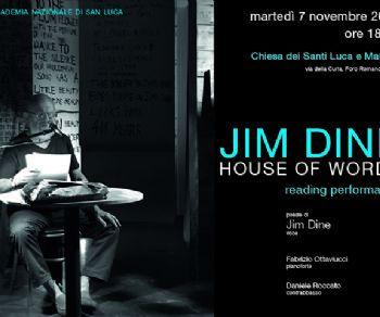 Altri eventi - Jim Dine. House of words