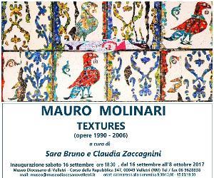 Mostre - Textures: mostra retrospettiva di Mauro Molinari