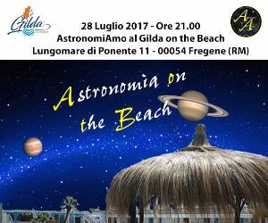 Locandina: Astronomia al Gilda on the Beach