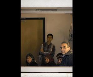 Locandina: Siriani in transito