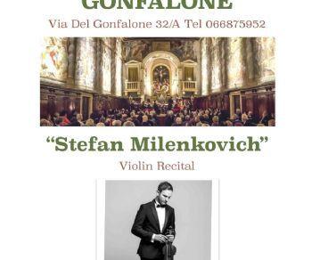 Concerti - STEFAN MILENKOVICH