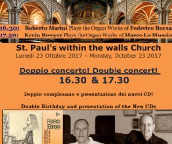 Concerti - Kevin Bowyer & Roberto Marini suonano Marco Lo Muscio & Federico Borsari