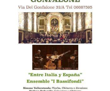 Concerti - Entre Italia y España