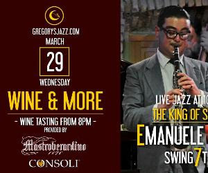 Locandina: Wine & More…Emanuele Urso