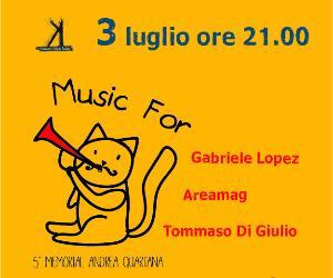Locandina evento: Music for