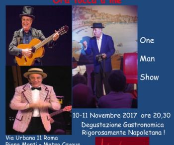 Spettacoli - Ora Tocca A Me di Vittorio Marsiglia