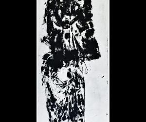 Locandina: Jannis Kounellis. Impronte