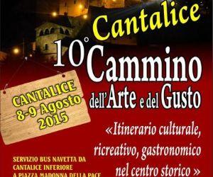 Locandina evento: 10° Cammino dell'Arte e del gusto