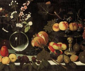 Locandina: Caravaggio e il Maestro di Hartford: l'origine della natura morta in Italia