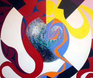 Locandina: Francesco Del Drago. Parlare col colore