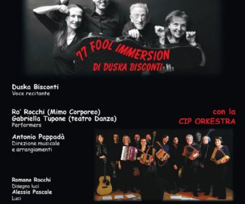 Locandina evento: 77 Fool Immersion