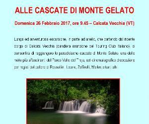 Locandina: Alle cascate di monte Gelato