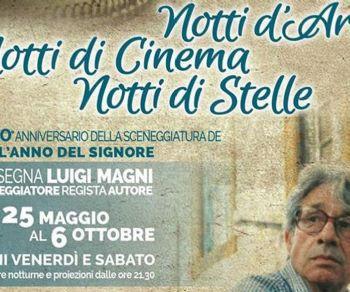 Locandina: Notti d'arte Notti di cinema Notti di stelle