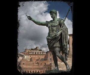 Locandina: La Rivoluzione di Augusto. L'imperatore che riscrisse il tempo e lo spazio