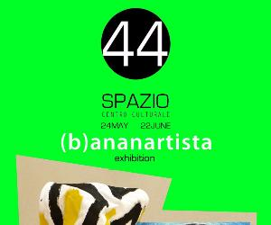 Locandina: B)ananartista exhibition in rome