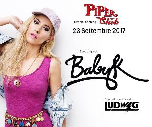 Concerti - Official Opening Piper Club Roma