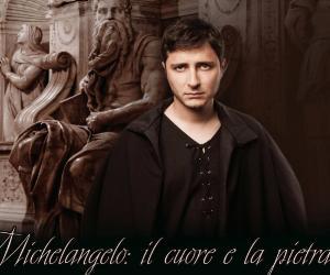 Locandina: Michelangelo Buonarroti: il cuore e la pietra