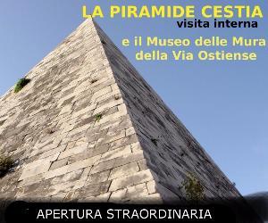 Visite guidate - La Piramide Cestia e il Museo Ostiense