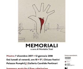 Mostre - MEMORIALI