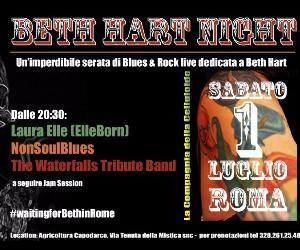 Locandina: Beth Hart Night
