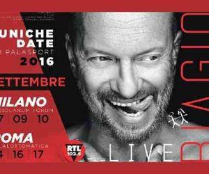 Locandina evento: Biagio Antonacci Live 2016
