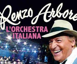 Event poster: Renzo Arbore e l'Orchestra italiana in tour