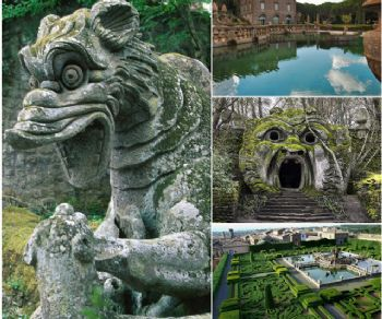 Visite guidate - Bomarzo e Villa Lante: due Giardini Fiabeschi a confronto