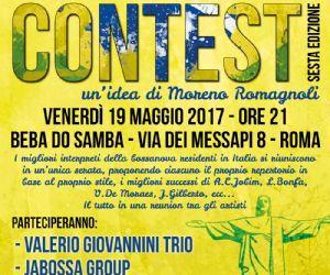 Locandina: BOSSANOVA CONTEST