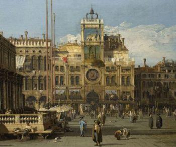 Locandina: Canaletto in mostra a Roma - Palazzo Braschi