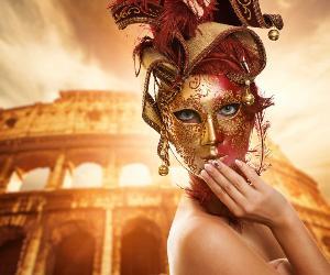 Locandina: Roma in Maschera