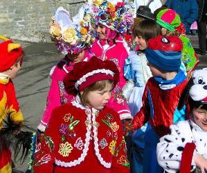 Locandina: La leggenda del Carnevale narrata dal Colle del Campidoglio