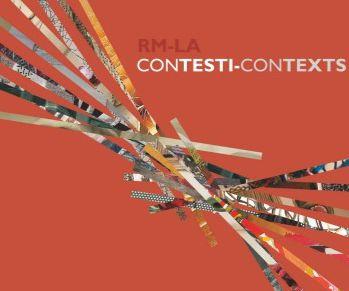 Locandina: RM – LA / CONTESTI - CONTEXTS - Mostra internazionale del Libro d'Artista