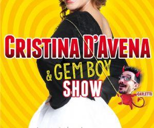 Locandina evento: Cristina D'Avena e i Gem Boy